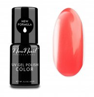 NeoNail - UV GEL POLISH COLOR - LADY IN RED - Lakier hybrydowy - 3792-1 - CRAZY CORAL - 3792-1 - CRAZY CORAL