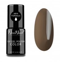 NeoNail - UV GEL POLISH COLOR - GRUNGE - Lakier hybrydowy - 6 ml - 2612-1 - KHAKI - 2612-1 - KHAKI