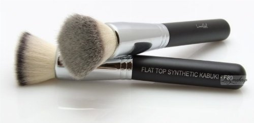 LancrOne - FLAT TOP SYNTHETIC KABUKI - Pędzel do podkładu, pudru i bronzera - F80