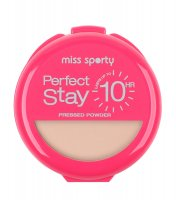 Miss Sporty - So Matte Perfect Stay - Puder matujący - 001 - LIGHT - 001 - LIGHT