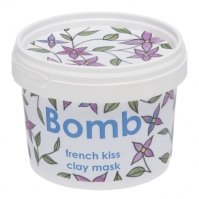 Bomb Cosmetics - FRENCH KISS CLAY MASK - Maseczka do twarzy z glinką Kaolin