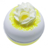 Bomb Cosmetics - Lemon Da Vida Loca - Musująca kula do kąpieli - LEMON