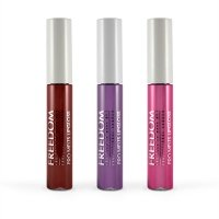 FREEDOM - PRO MELTS - IMPACTS - Collection Long Lasting & Intense Colour - Zestaw 3 błyszczyków do ust