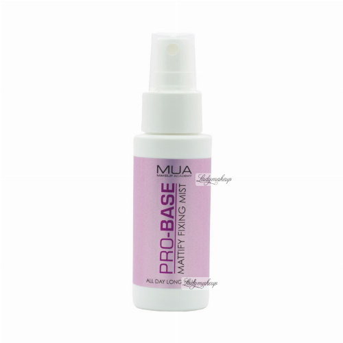 MUA - PRO-BASE - MATTIFY FIXING MIST - Spray do utrwalania makijażu