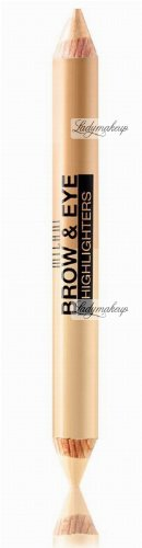 MILANI - 2-IN-1 BROW COLOR & HIGHLIGHTER - Kredka do brwi 2w1