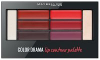 MAYBELLINE - COLOR DRAMA - Lip Contour Palette - Paleta pomadek do ust