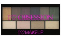I ♡ Makeup - I ♡ OBSESSION PALETTE - Paleta 10 cieni do powiek - WEST END GIRLS