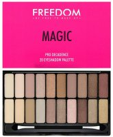 FREEDOM - PRO DECADENCE MAGIC EYESHADOW PALETTE - Paleta 20 cieni do powiek