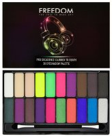 FREEDOM - PRO DECADENCE CLUBBED TO DEATH EYESHADOW PALETTE - Paleta 20 cieni do powiek