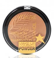 VOLLARÉ - Matt Fashion Trendy Illumination - MAKE UP COMPACT POWDER - Puder prasowany