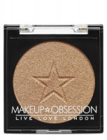 MAKEUP OBSESSION - HIGHLIGHTER - Rozświetlacz - H106 - GOLD - H106 - GOLD