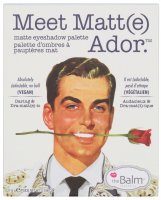 The Balm - Meet Matt(e) Ador - Paleta 9 cieni do powiek