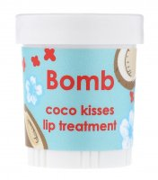 Bomb Cosmetics - Coconut Lip Treatment - Coco Kisses - Intensywna kuracja do ust KOKOSOWE POCAŁUNKI