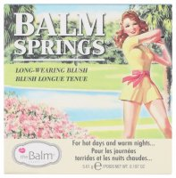 The Balm - BALM SPRINGS - Long-wearing blush - Róź do policzków