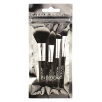 FREEDOM - MINI KIT BRUSH SET - Mini zestaw 4 pędzli do makijażu