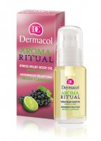 Dermacol - AROMA RITUAL - STRESS RELIEF BODY OIL - GRAPE & LIME - Olejek do ciała o zapachu winogron i limonki