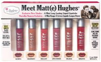 The Balm - Meet Matt(e) Hughes - 6 Mini Long-Lasting Liquid Lipsticks - Zestaw 6 mini matowych pomadek w płynie - EXCLUSIVE NEW SHADES