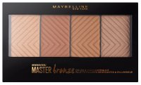 MAYBELLINE - Master Bronze Palette - COLOR & HIGLIGHTING KIT - Paleta do makijażu 20