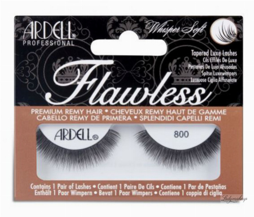 ARDELL - Flawless - TAPERED LUXE LASHES - Luksusowe rzęsy na pasku