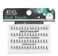 ARDELL - Soft Touch - Subtelne rzęsy w kępkach - 682833 - KNOT-FREE TAPERED - SHORT BLACK - 682833 - KNOT-FREE TAPERED - SHORT BLACK