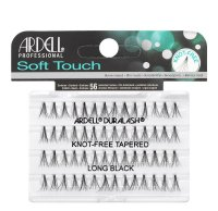 ARDELL - Soft Touch - Subtelne rzęsy w kępkach - 682857 - KNOT-FREE TAPERED - LONG BLACK - 682857 - KNOT-FREE TAPERED - LONG BLACK