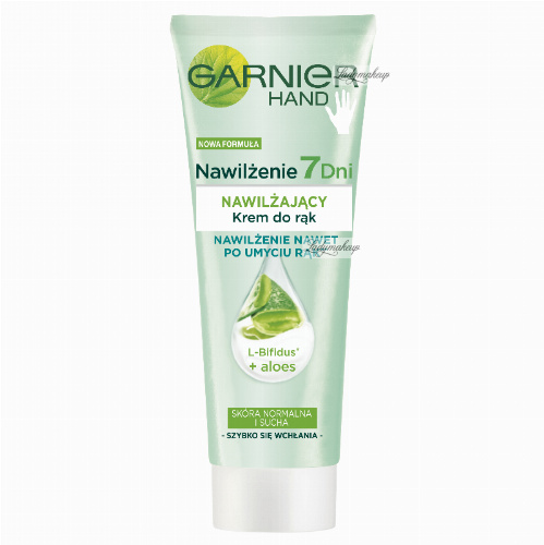 GARNIER - Intensive 7 Days - PROTECTING HAND CREAM - Nawilżający krem do rąk