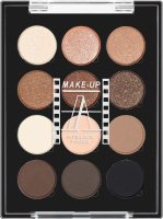 Make-Up Atelier Paris - PALETTE 12 EYESHADOW - Paleta 12 cieni do powiek - P12C/ESN