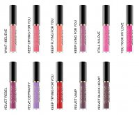 MAKEUP REVOLUTION - Salvation velvet LIP LACQUER - Pomadka do ust