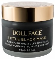 DOLL FACE - LITTLE BLACK MASK - Super Purifying & Clearing Mask - Maska oczyszczająca