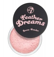 W7 - Feather Dreams Loose Powder - Sypki puder do twarzy - PERFECT PINK