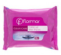 Flormar - CLEAN CARE - Face & Eye Make Up Remover Wipes for All Skin - Chusteczki do demakijażu oczu i twarzy