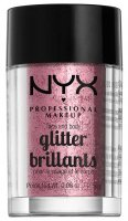 NYX Professional Makeup - Glitter Brillants - Brokat do twarzy i ciała