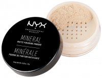 NYX Professional Makeup - MINERAL MATTE FINISHING POWDER - Puder mineralny