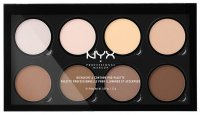 NYX Professional Makeup - HIGHLIGHT & CONTOUR PRO PALETTE - Paleta do konturowania
