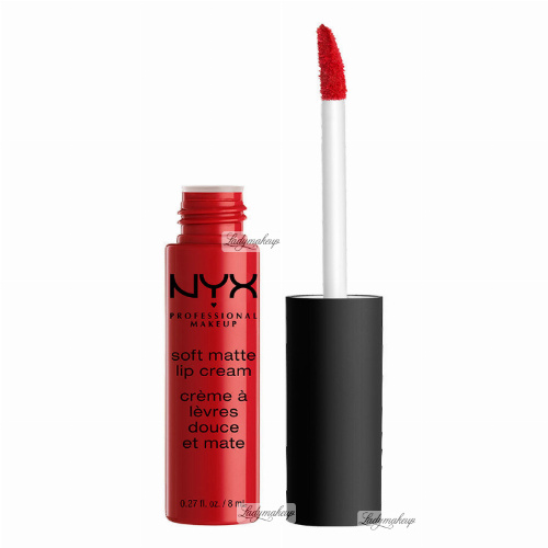 NYX Professional Makeup - SOFT MATTE LIP CREAM - Kremowa pomadka do ust w płynie