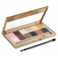 MAYBELLINE - THE 24 KARAT NUDES EYESHADOW PALETTE - Paleta 12 cieni do powiek