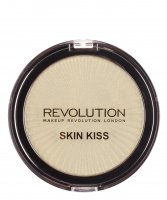 MAKEUP REVOLUTION - SKIN KISS - Highlighter - Rozświetlacz do twarzy - ICE KISS - ICE KISS