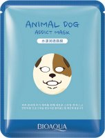 BIOAQUA - Animal Dog Addict Mask - Maska do twarzy w płacie - PIES