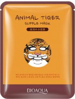BIOAQUA - Animal Tiger Supple Mask - Maska do twarzy w płacie - TYGRYS