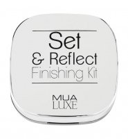 MUA - LUXE - Set & Reflect - Finishing Kit - Puder transparentny i rozświetlacz
