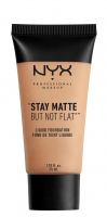 NYX Professional Makeup - STAY MATTE BUT NOT FLAT LIQUID FOUNDATION - Podkład matujący - SMF03 - NATURAL - SMF03 - NATURAL