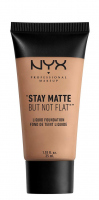 NYX Professional Makeup - STAY MATTE BUT NOT FLAT LIQUID FOUNDATION - Podkład matujący - SMF08 - GOLDEN BEIGE - SMF08 - GOLDEN BEIGE