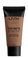 NYX Professional Makeup - STAY MATTE BUT NOT FLAT LIQUID FOUNDATION - Podkład matujący - SMF15 - CHESTNUT - SMF15 - CHESTNUT