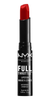 NYX Professional Makeup - FULL THROTTLE LIPSTICK - Matowa pomadka do ust - 08 - UP THE BASS - 08 - UP THE BASS
