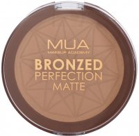 MUA - BRONZED PERFECTION MATTE - Puder brązujący - Matowy - SUNSET TAN - SUNSET TAN