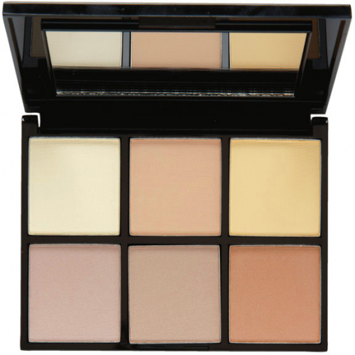 MUA - LUXE - RADIANT ILLUMINATION Highlighting Kit - Paleta rozświetlaczy do twarzy - 1