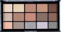 MUA - 15 Shade Palette - Matte Feather Light - Paleta 15 matowych cieni do powiek
