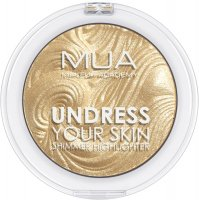 MUA - UNDRESS YOUR SKIN - Shimmer Highlighter - Golden Scintillation - Rozświetlacz do twarzy
