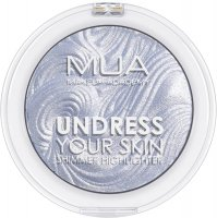 MUA - UNDRESS YOUR SKIN - Shimmer Highlighter - Ice Sparkle - Rozświetlacz do twarzy