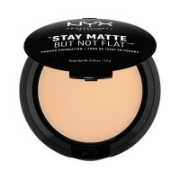 NYX Professional Makeup - STAY MATTE BUT NOT FLAT - Pudrowy podkład w kompakcie - 03 - NATURAL - 03 - NATURAL